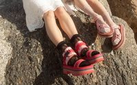 Anna Sui teams up with Teva for summer sandals series