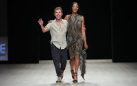 Esteban Cortázar closes Nigeria's Arise Fashion Week with Naomi Campbell