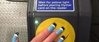 The tech fake nails that double as your subway pass