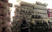 Incautada tela de contrabando en Colombia valorada en 2,8 millones de dólares