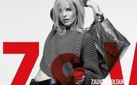 Zadig & Voltaire choisit Eva Herzigova comme nouvelle muse