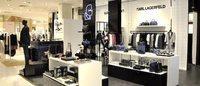 Karl Lagerfeld s'installe aux Galeries Lafayette Haussmann