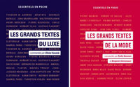 L'IFM publie deux ouvrages sur la mode et le luxe vus par les grands penseurs
