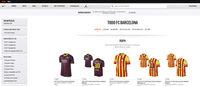 Nike gestionará la tienda online del FC Barcelona