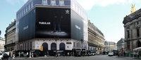 Adidas s'affiche en grand dans Paris avec sa Tubular Gallery