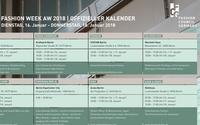 Fashion Council Germany bringt erstmals Kalender zur MBFW heraus