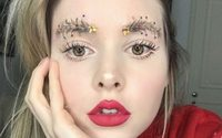 'Christmas Tree Brows' are the latest offbeat festive beauty trick