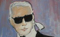 Un autoportrait de Karl Lagerfeld vendu 17.980 euros aux enchères