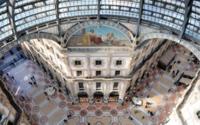Rolex conquista due vetrine in Galleria Vittorio Emanuele