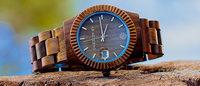 自然素材の木だけで作られたオーガニック腕時計が初上陸 マクアケ通じて拡大図る