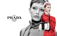 Gigi Hadid strikes a pose for Prada