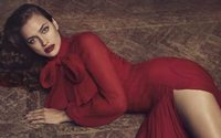 Irina Shayk is the face of the latest Blumarine ad campaign