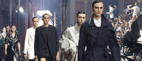 Lanvin shrinks men's shorts at Paris fashion week