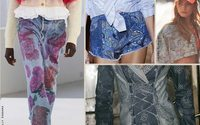 Fashion For Breakfast: Denim S/S 21 - Lines, treatments and details
