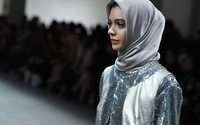 At NY fashion week, hijabs top looks fit for royalty