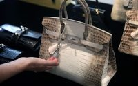 Enchères: nouveau record pour un sac Hermès Birkin incrusté de diamants