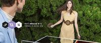 Pitti W: una funny girl con borsa in cocco tricolore