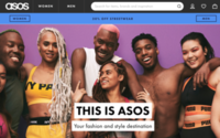 Asos tops e-tail UX ranking, Harrods near bottom