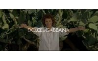 Sophia Loren en mamma sicilienne pour Dolce & Gabbana