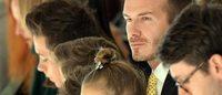La famille Beckham au grand complet au défilé de Victoria Beckham