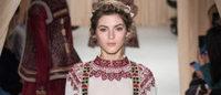 Valentino explore le folklore russe