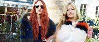 Irmãs Jagger encabeçam a nova campanha Sonia Rykiel primavera-verão 2015