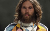 Beards, fringes and just a hint of blush: beauty trends from Milan Men's Fashion Week