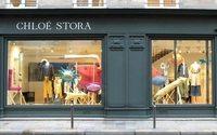 Chloé Stora a inauguré sa première vitrine parisienne