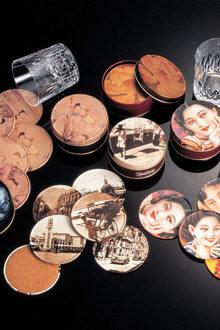 A Taste Of China Design Around The Table  Alan Chan Creations Shanghai Ladies Tin Coaster