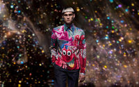 Dior Men Pre-Fall 2021: Chinese seed embroidery meets Kenny Scharf