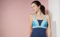 Albertine imagine des maillots pour les femmes opérées d'un cancer du sein