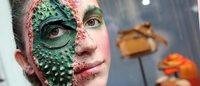 Protesta animalista a Milano contro l'uso della pelle di coccodrillo