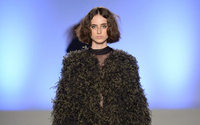 Italian designer Daniele Calcaterra launches ethical 'fur' fabric made with organza