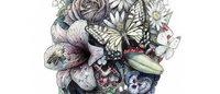 ヨウジヤマモト「グラウンド Y」×アーティスト笹田靖人、細密画のコラボT発売
