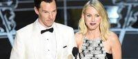 Oscars : du blanc, du rouge et quelques gouttes de pluie sur le tapis rouge