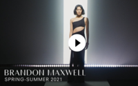 Brandon Maxwell S/S 2021: Polished and powerful in the pandemic