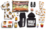 McDonald's debuts McDelivery fashion collection