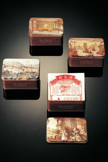 A Taste Of China Design Around The Table   Alan Chan Creations Shanghai Junk Boat Tin Tea Box