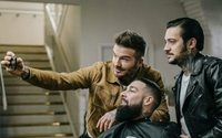 David Beckham heads to the barbershop to mark one year of his House 99 grooming brand