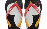 Havaianas looks back on Mickey Mouse's long career with an anniversary collection