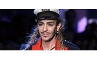 John Galliano 'grateful' for dramatic fall from grace