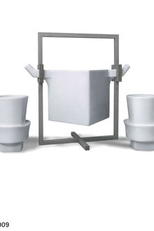 A Taste Of China Design Around The Table Jeff Dayu Shi  Twins Square Teapot Set