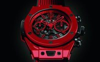 Hublot presents 'Big Bang Unico Red Magic' in patented red ceramic