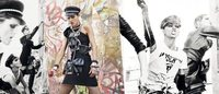 Stella Tenant and Anja Rubik star in riotous Moschino campaign