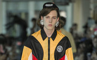 Angus Chiang does flamboyant sport for debut Paris show