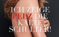 Neue PETA-Kampagne: Dana Schweiger zeigt Pelz die kalte Schulter