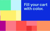 """eBay launches new """"Fill Your Cart With Color""""  personalized shopping experience"""