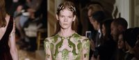 From Classical to Cubist, haute couture gets an artistic makeover from Valentino and Viktor & Rolf