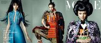 ミランダ・カー、Vogue Japan表紙で日本文化を表現