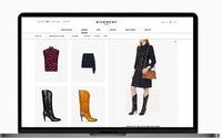 Givenchy sbarca in Italia con la sua piattaforma di e-commerce